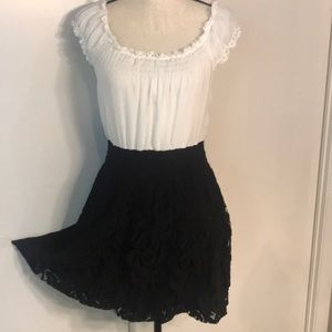 Free People Dress Lace Skirt CUTE!!